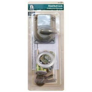garage door lock home depot. everbilt garage door dead-bolt lock with cylinder-5020a41 at the home depot