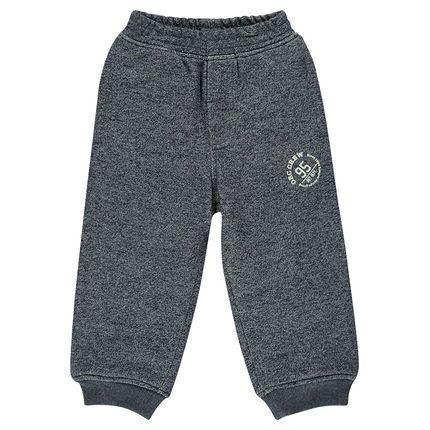 Pantalon en molleton avec logo printé  Main