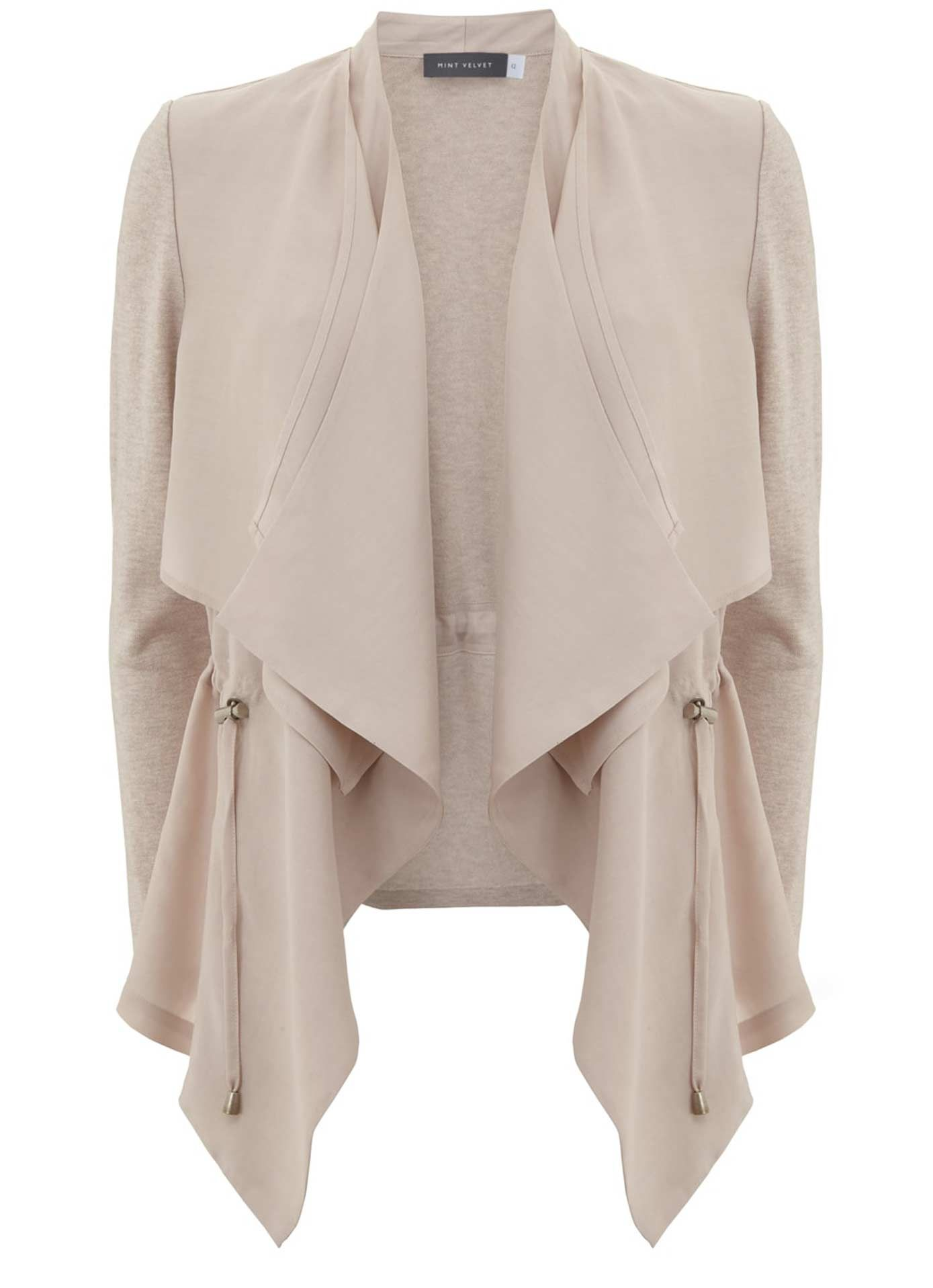 Nude Cupro Short Cardigan | Clothes and Fashion