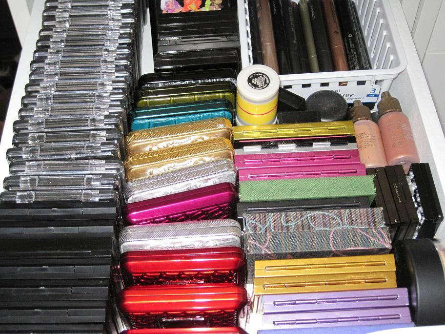 The Glam Shack: Makeup Storage   Ikea Alex
