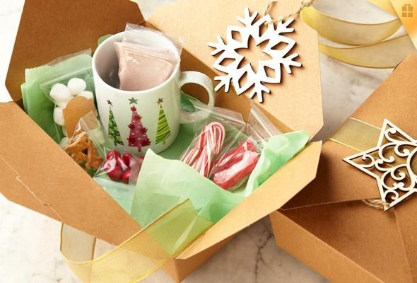 Put Together A Thoughtful Hot Cocoa Care Package As An