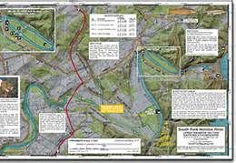 Fly Fishing Tennessee Map.Tennessee Fly Fishing Map South Holston River Mike S Fly Fishing