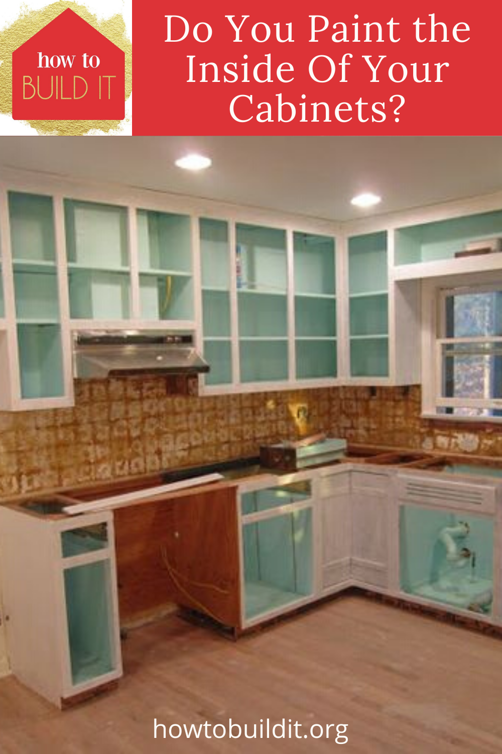 How To Paint The Inside Of Your Cabinets How To Build It Home Remodeling Diy Home Improvement Projects Diy Renovation
