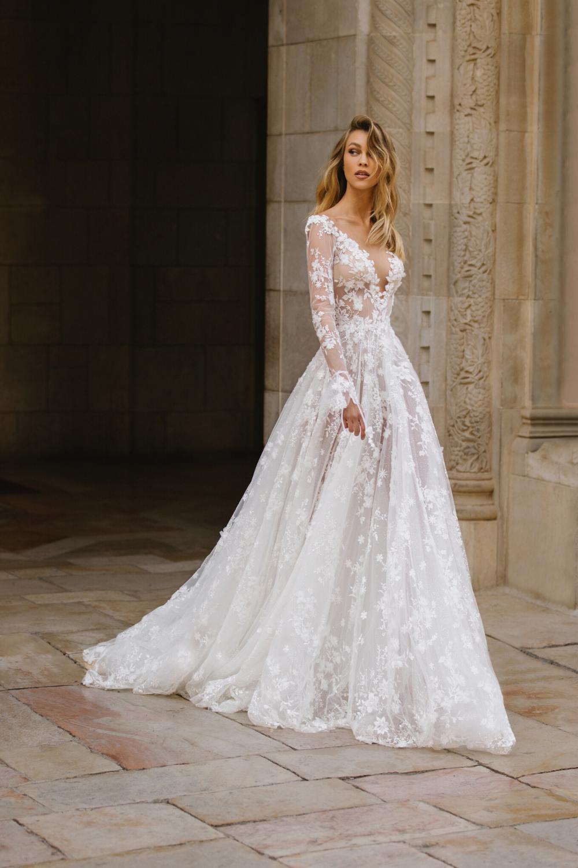G 408 Fairy Tale Wedding Dress Dream Wedding Dresses Wedding Dress Long Sleeve [ 1500 x 1000 Pixel ]