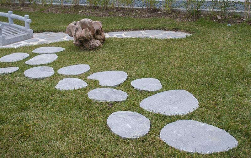 Trittsteine Step Stones Aus Quarzit Getrommelt Trittsteine Steine Natursteine