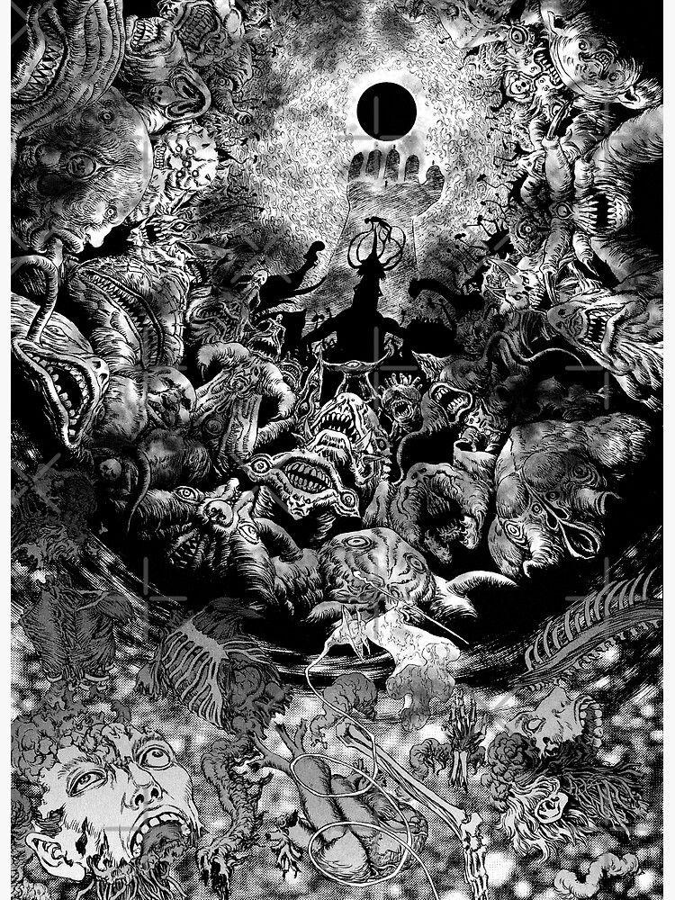 Eclipse - Berserk | Arte de cómics, Arte manga, Arte del ojo
