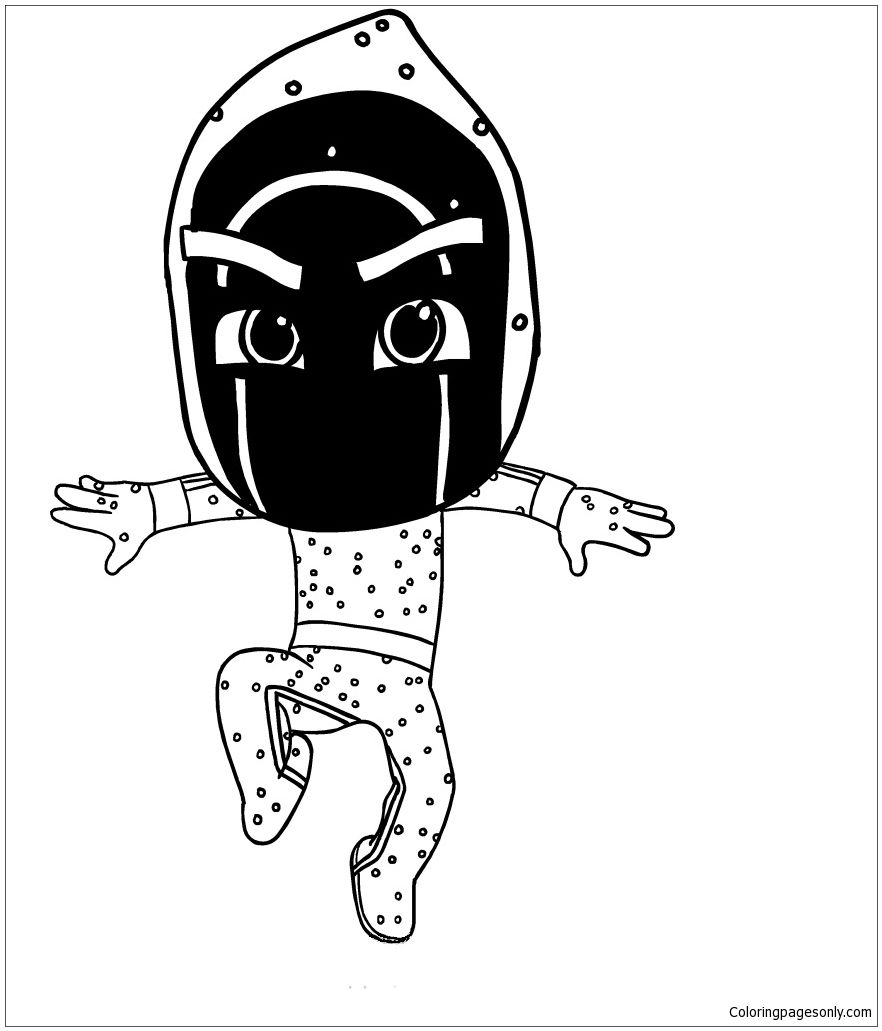 Ninjalinos Of Pj Masks Coloring Page Pj Masks Coloring Pages