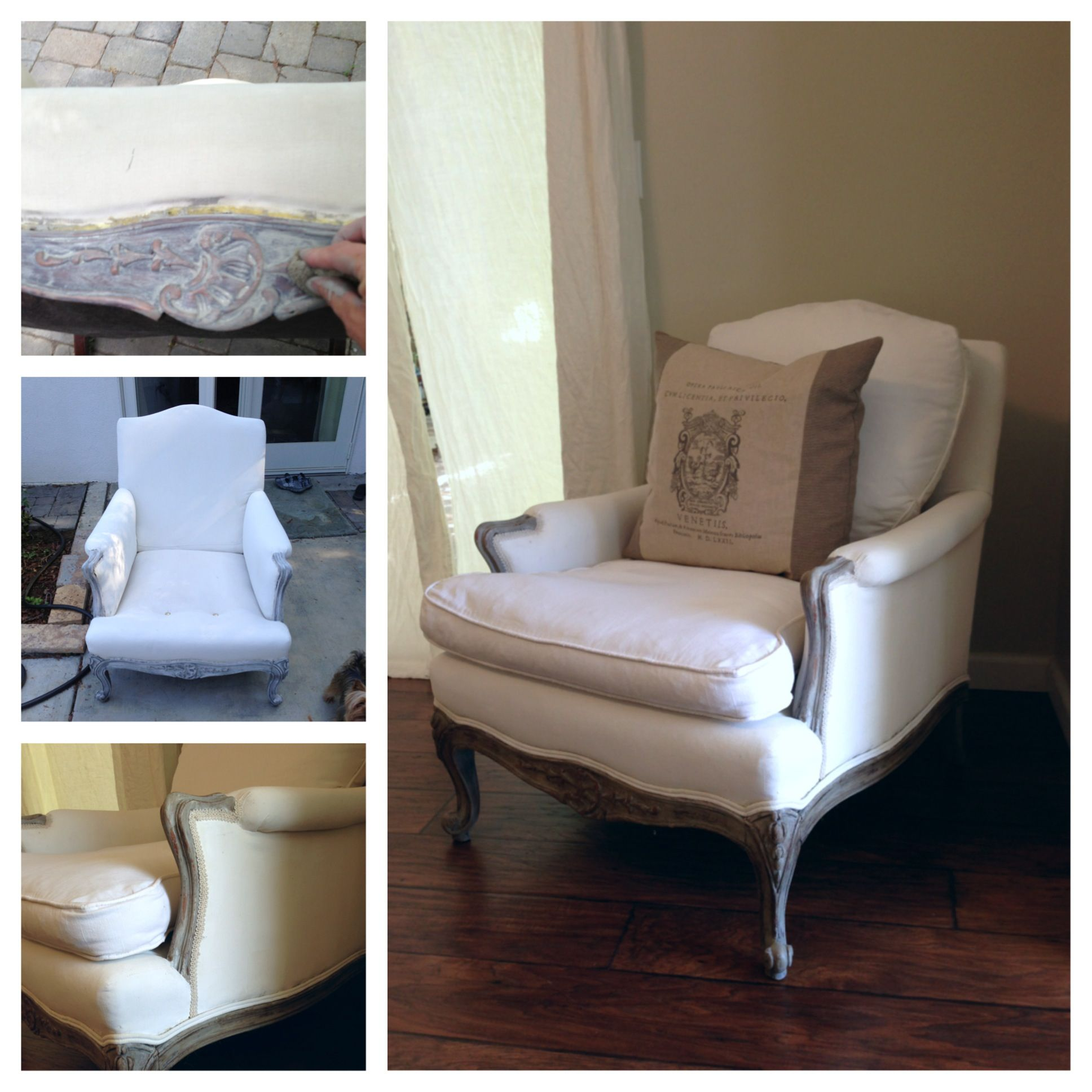 Redo French Bergere chair