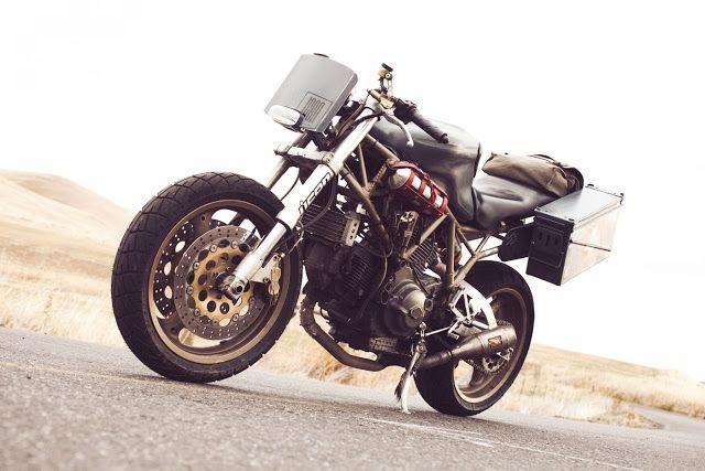 Il Ducatista - Desmo Magazine: Atom Bomb Custom Motorcycles