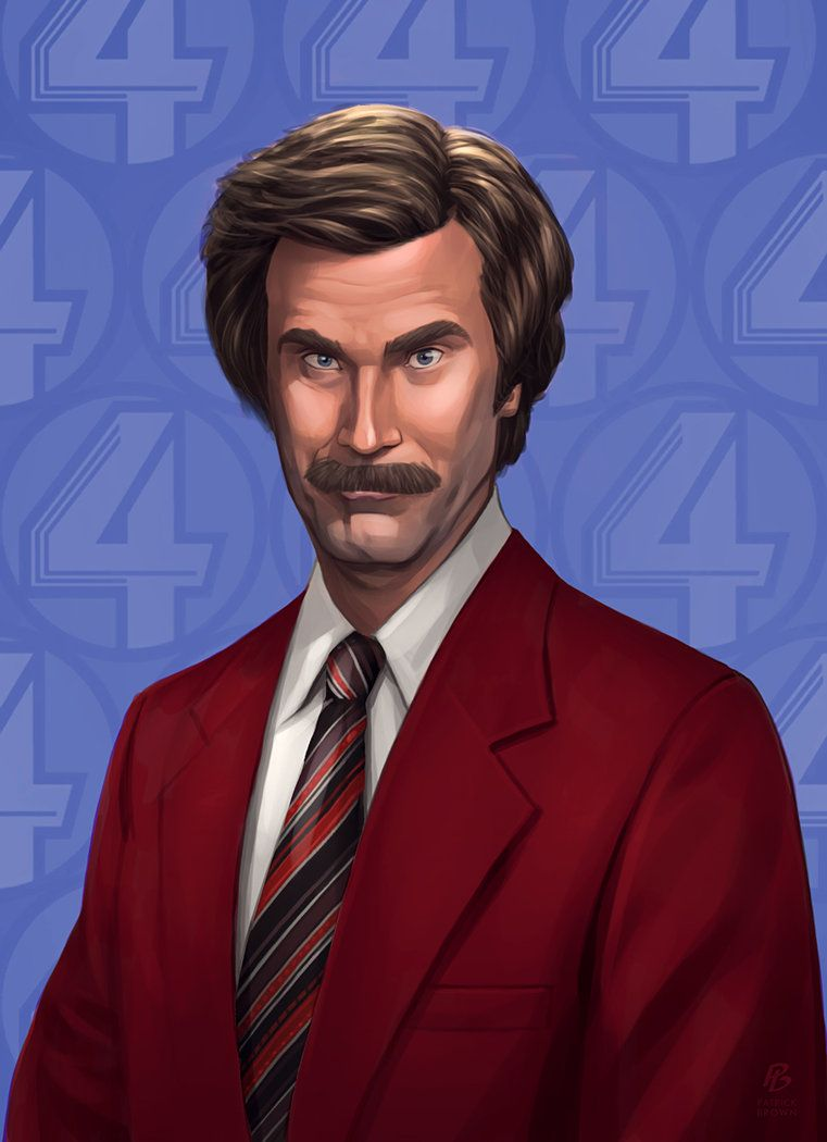 Anchorman 2 By Patrickbrown On Deviantart Anchorman Ron