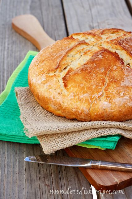 I've tried several recipes for Irish Soda Bread, and this is by far my favorite. It bakes up into such a beautiful loaf that I can hardly believe it isn't a yeast bread. And it's so incredibly ea...