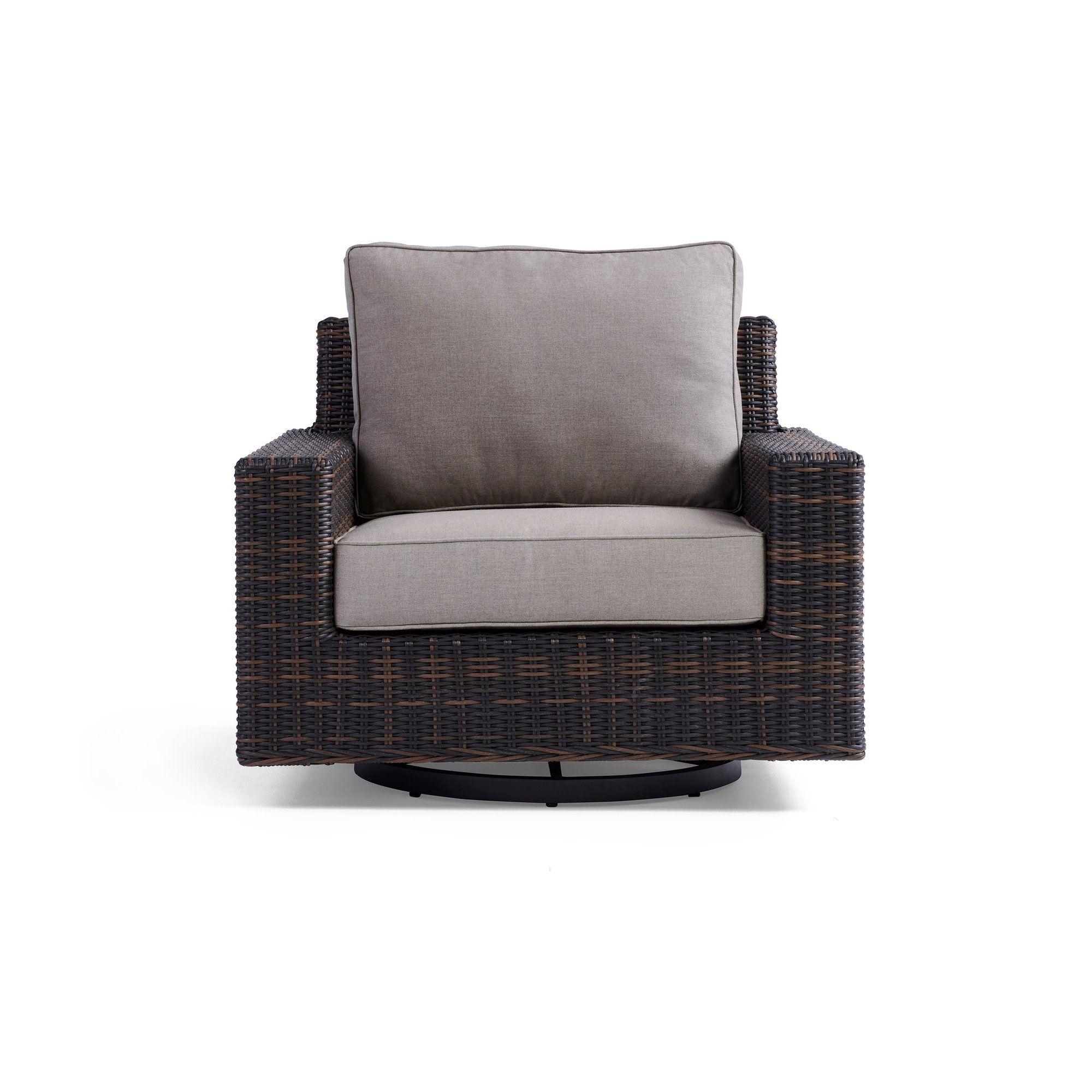 Langdon Outdoor Swivel Glider Chair Swivel glider chair