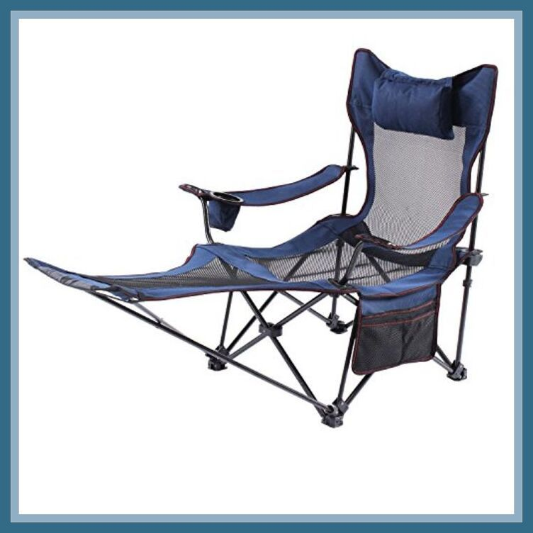 52 Reference Of Folding Camping Chair With Footrest In 2020 Folding Camping Chairs Camping Chair Chair