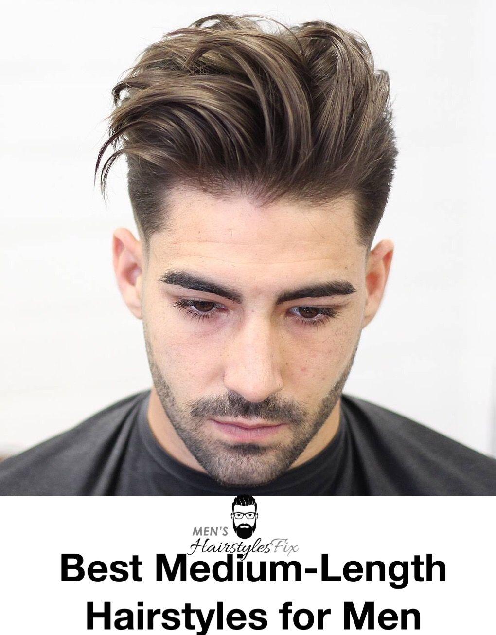 20 best medium-length hairstyles for men in 2018 | medium