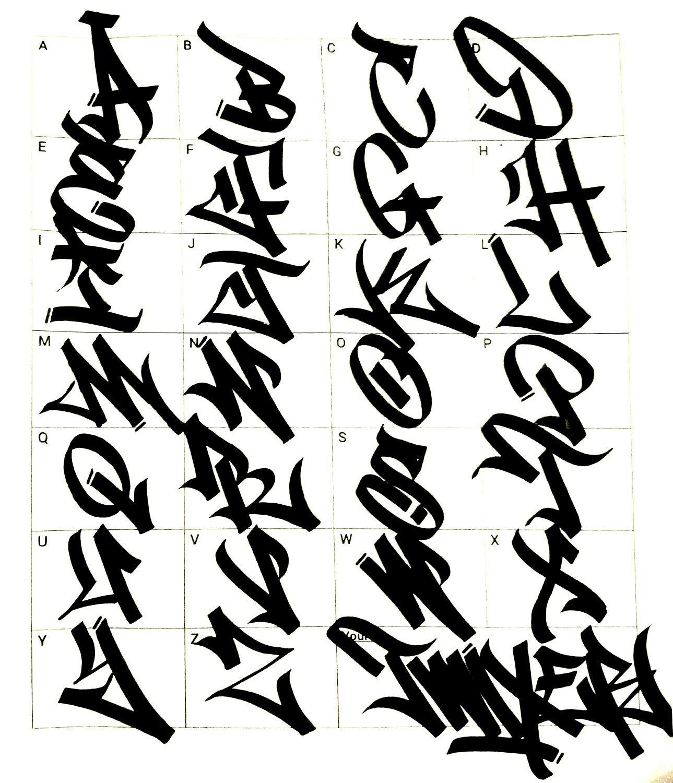 Изображение «Graffiti art & graffiti fonts» от ...