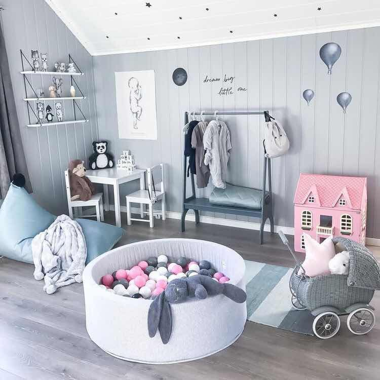 Como Decorar Un Cuarto De Juegos Para Ninas Moderno Y Con Estilo Toddler Girl Room Baby Decor Girl Room
