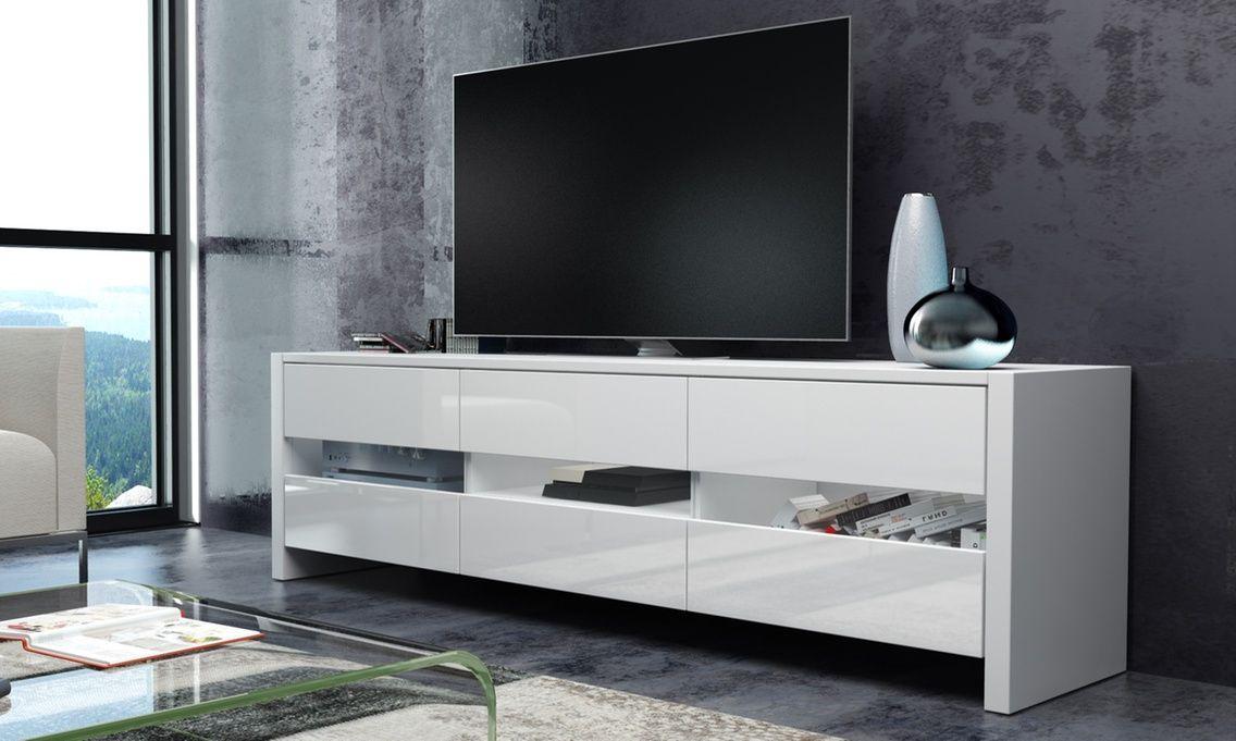 meuble tv skylight avec ou sans led selsey