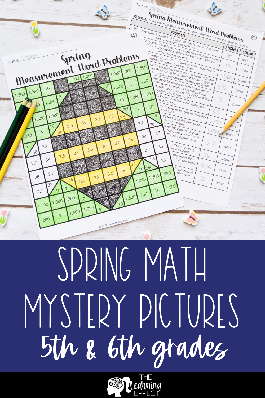Spring Math Mystery