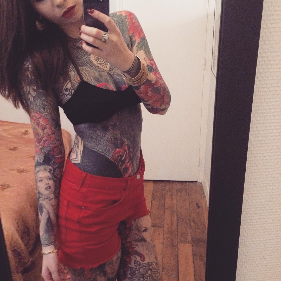 Inspiredtattooportraits tatoos pinterest for Topless tattoo girls