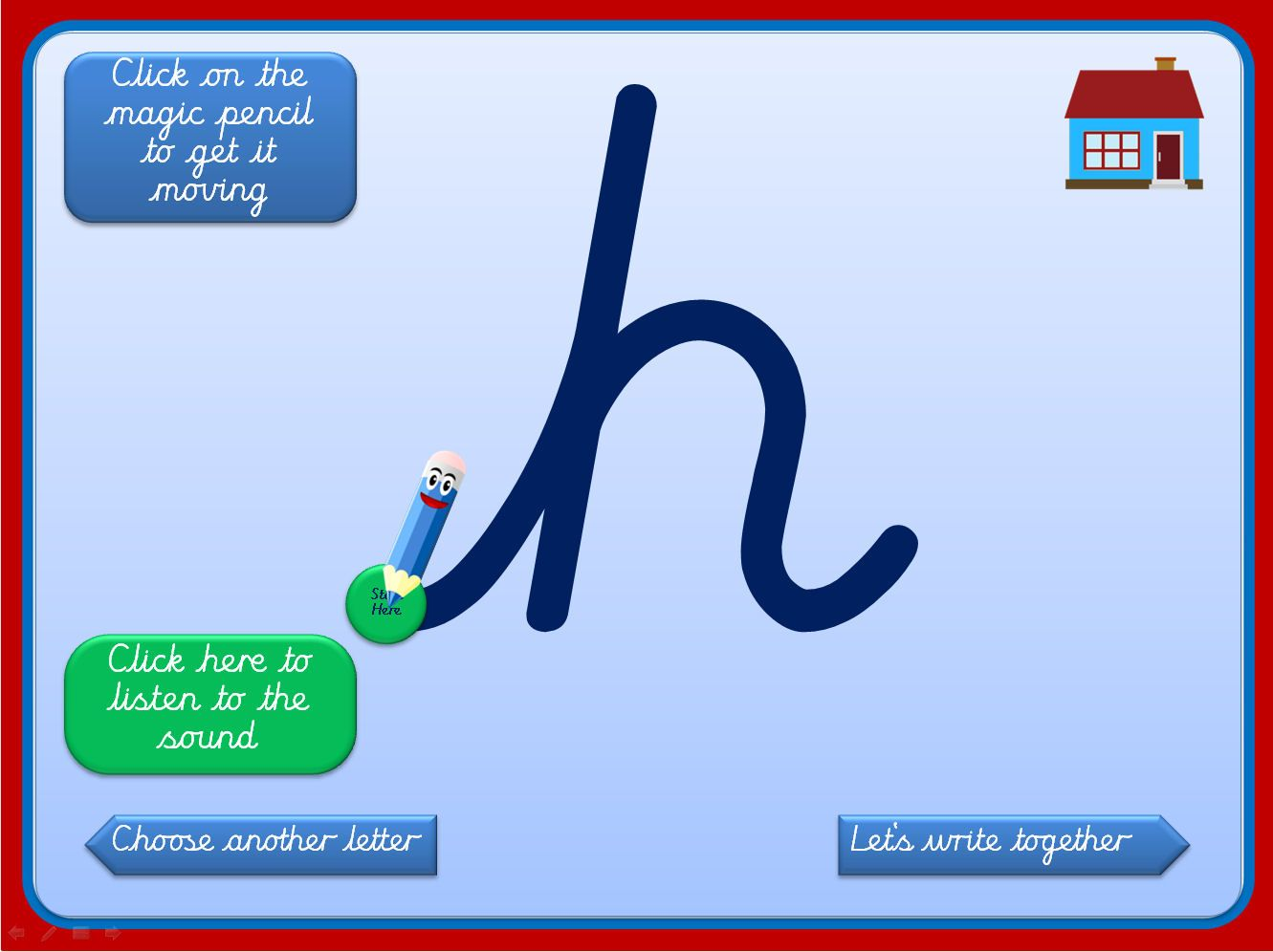 Magic Pencil Letter Formation