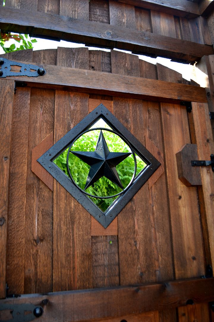 OZCO's Star Accent Ornament Insert Kit goes great with Hex Dome Cap and hinges (also from OZCO). From simple DIY Projects in the Garden, Home or Outdoor Living Space to customized and inspiring projects built by Pro's - we are posting your works to recognize greatness and encourage others in their pursuit of #OWTstanding Ornamental Wood Tie uses! In need of project plans? OZCO is always updating our library of FREE How To's!