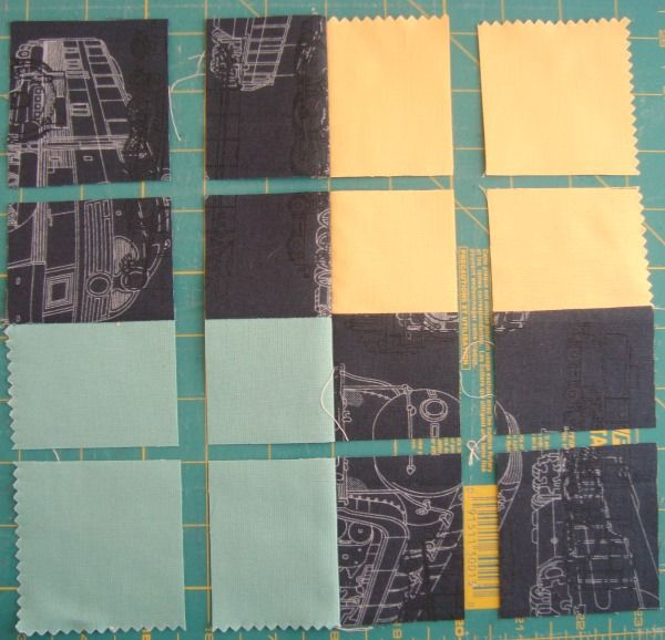 Disappearing 4 Patch Quilt Block Tutorial - | Patch quilt, Patches ... : 4 quilt block patterns - Adamdwight.com