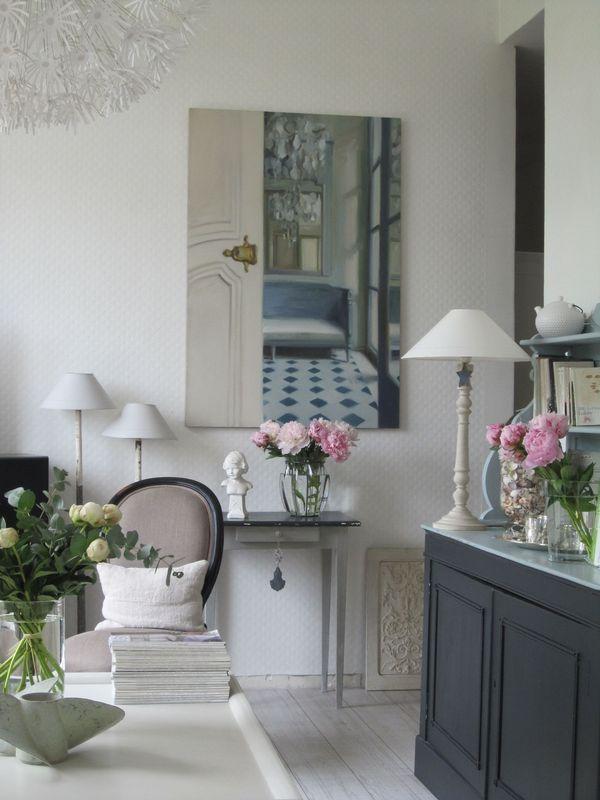 classique chic salons pinterest salons salon cosy and cosy. Black Bedroom Furniture Sets. Home Design Ideas