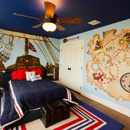 Pirate ideas  like the idea of adding some fish net to walls kids  room pinterest and bedrooms also rh