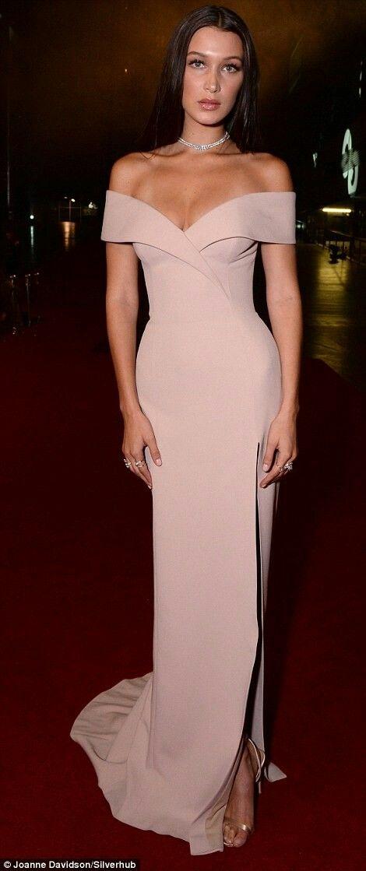 Red carpet gown concept | Long Skirt | Pinterest | Vestiditos ...