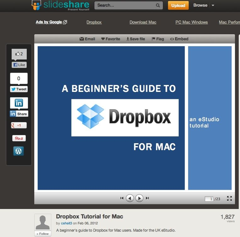 A beginners guide to dropbox for mac users dropbox