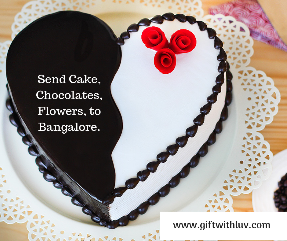 Send Cake flowers Gifts to Bangalore Cake, Flower cake