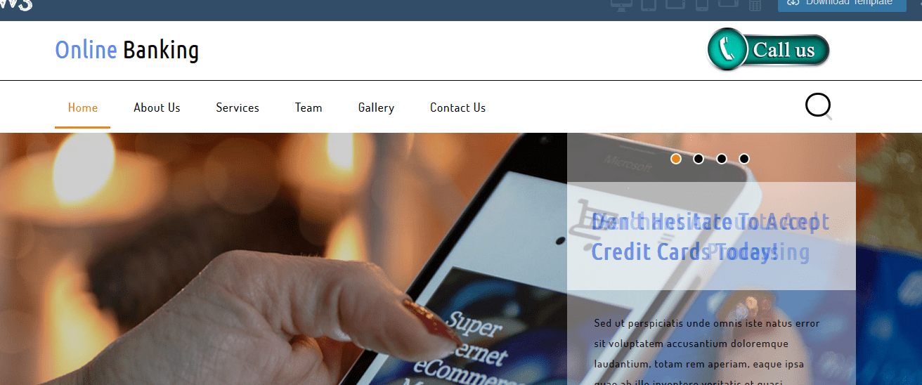 """While Searching for """"banking login page bootstrap"""" you"""