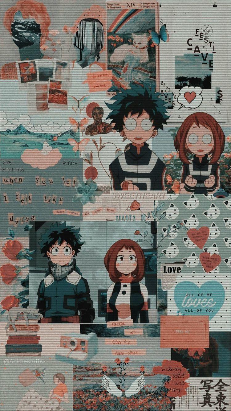 Aesthetic My Hero Academia Wallpaper : aesthetic, academia, wallpaper, Academia, 🍑🤪, Anime, Wallpaper, Iphone,, Wallpaper,