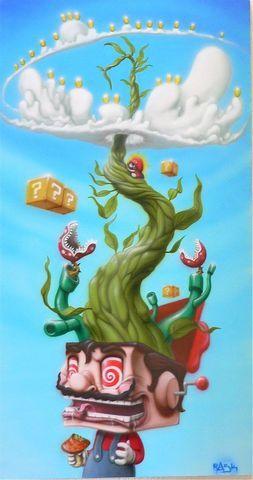 Mario on shrooms