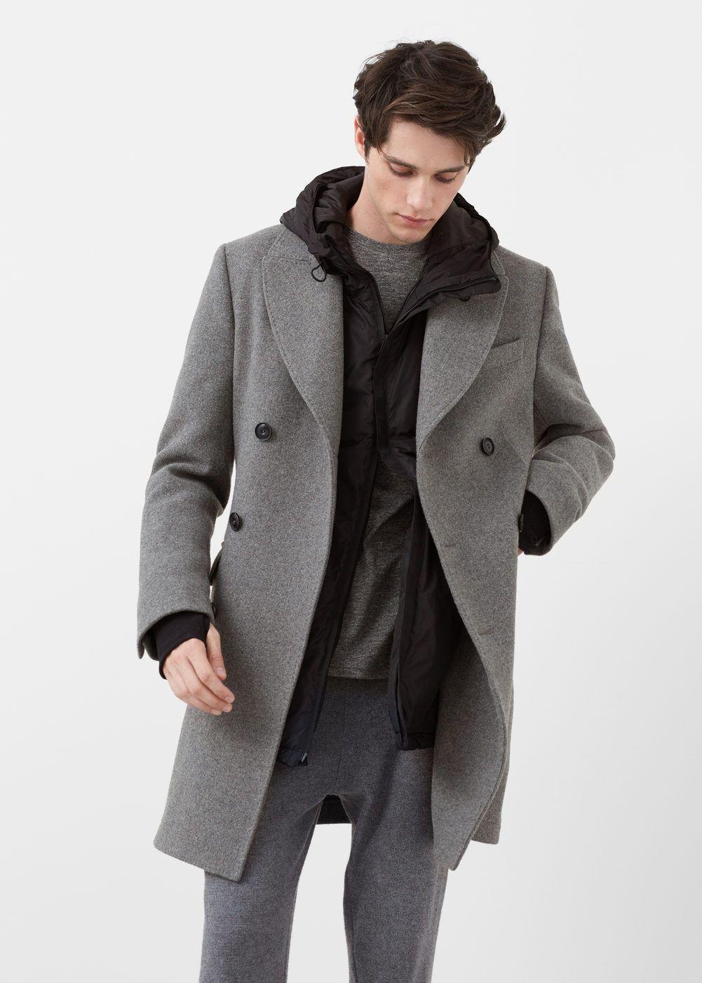 el precio más bajo Últimas tendencias gama muy codiciada de Abrigo largo tailored lana - Hombre | Abrigos | Outfits ...