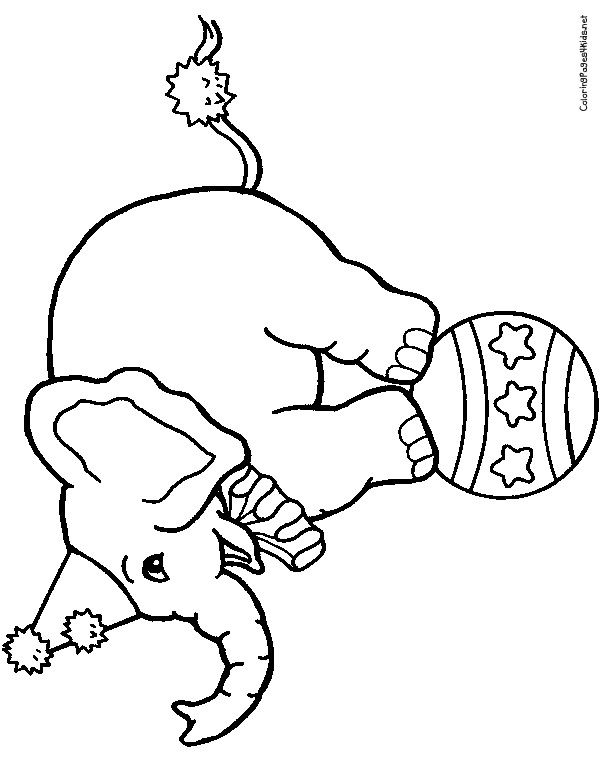 Clown Coloring Pages Elephant Coloring Pages Coloring Pages
