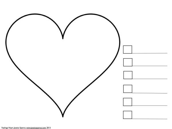 What Feelings Are In Your Heart: An Art Therapy Exercise