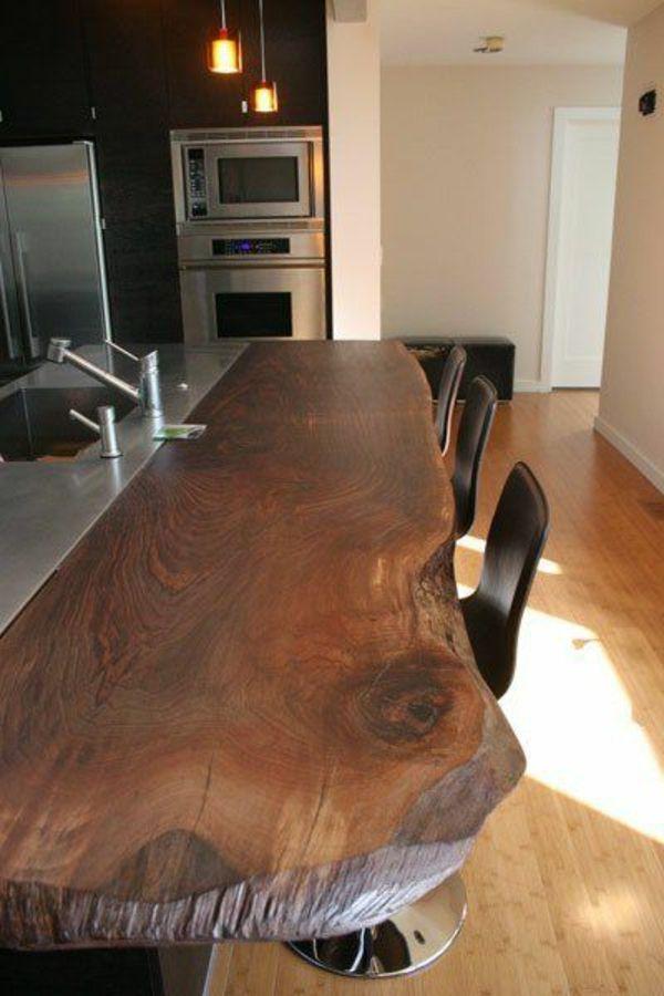 echtholzm bel k 600 900 arbeitsplatte k chenbar. Black Bedroom Furniture Sets. Home Design Ideas