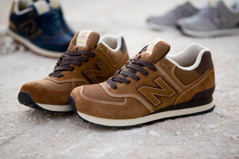 New Balance 574 Workwear Pack Brown | Threads | New balance