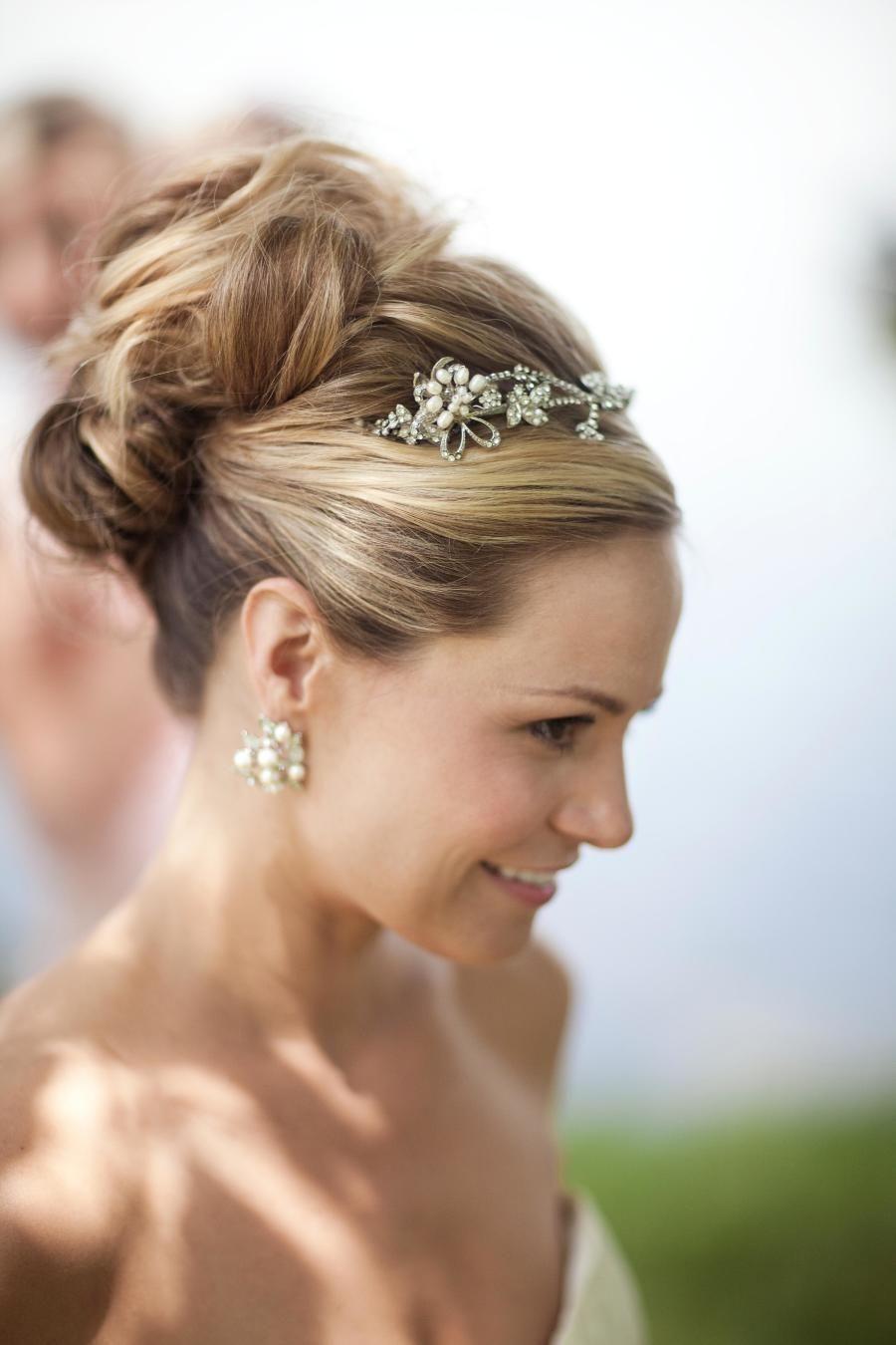 Rustic Meets Romantic Waring House Wedding Wedding Hair