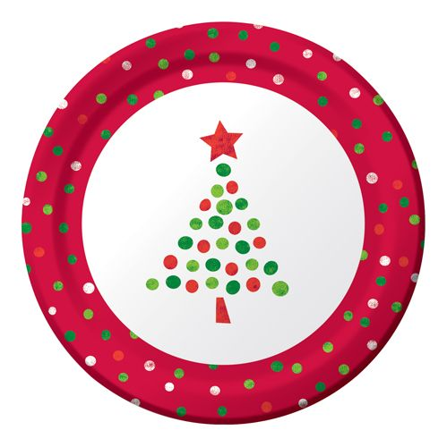 Christmas Tree Plate This Could Be Done With Fingerprints Paint Your Own Pottery Sharpie Crafts Diy Pottery