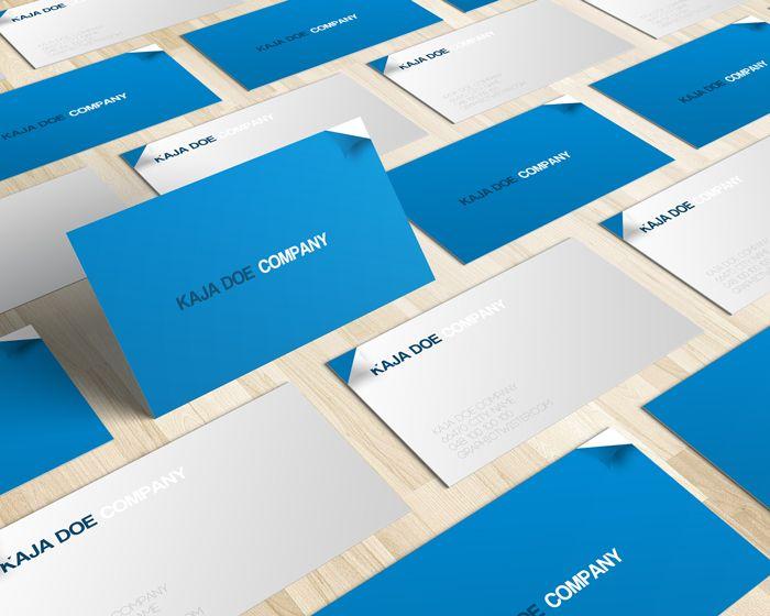 Blue business card premium and free psd resources free mockup blue business card premium and free psd resources reheart Images