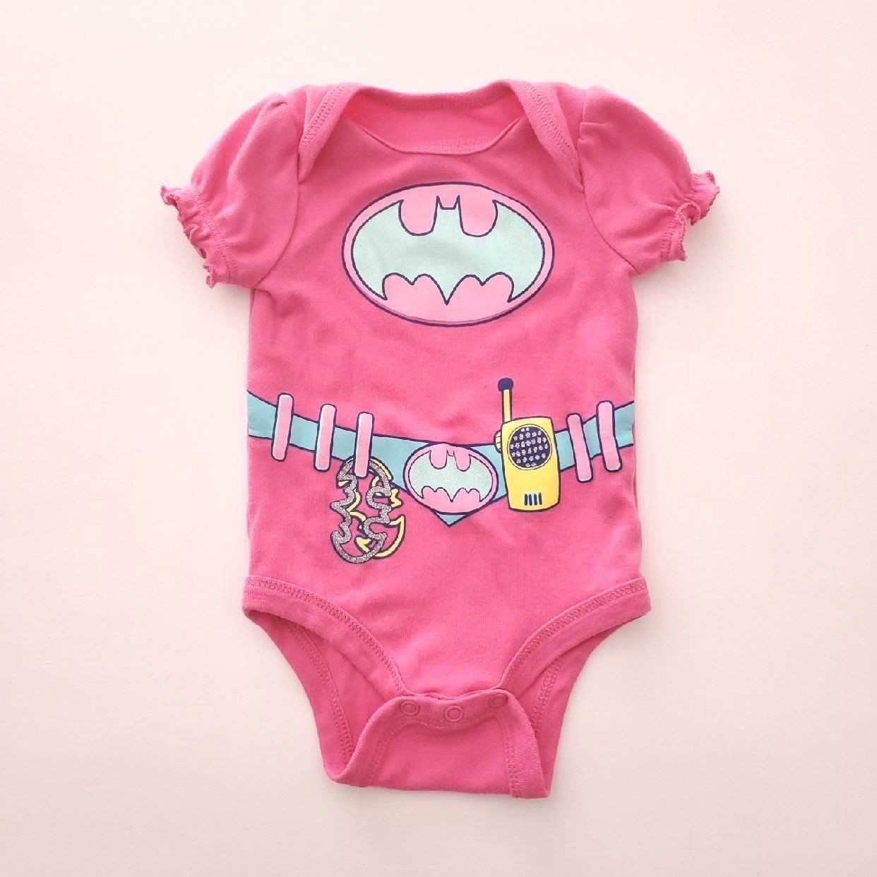 Short sleeves Pink Bat...