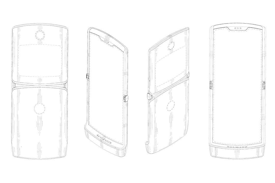 هكذا قد يبدو هاتف موتورولا القابل للطي Motorola RAZR 2019