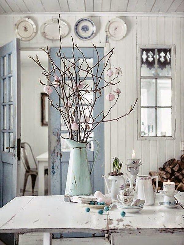 ideas-deco-como-decorar-cocinas-blancas-colores-pastel Cocina