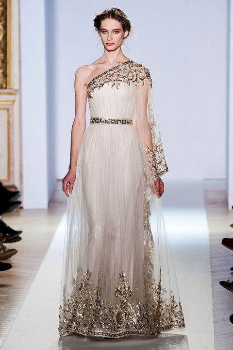 30 Flowing Grecian-Styled Wedding Dresses | красиво | Pinterest ...