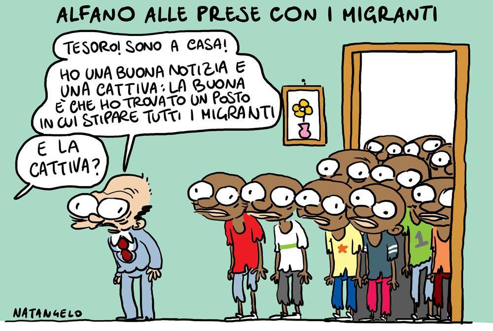 Natangelo (2015-09-17) la cattiva notizia – da Il Fatto Quotidiano – http://www.natangelo.it