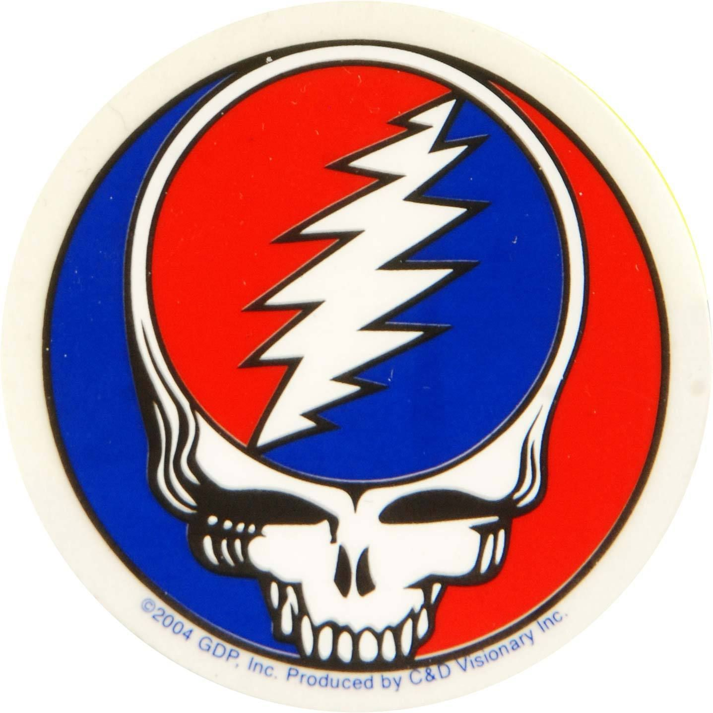 Small Steal Your Face Sticker In 2021 Grateful Dead Sticker Grateful Dead Skull Sticker [ 1437 x 1437 Pixel ]