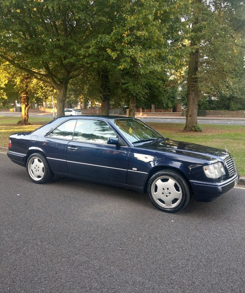 Ebay 1996 Mercedes E320 Coupe W124 Mercedes W124