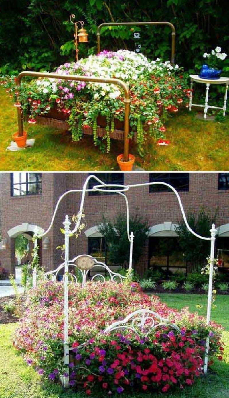 Photo of 10 Truly Cool DIY Garden Bed and Planter Ideas For Your Garden ~ GODIYGO.COM